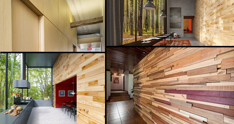 دیوار پیش ساخته چوبی