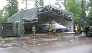 کانکس نظامی آشیانه هواپیما
