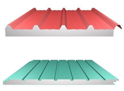 ساندویچ پانل رنگی در سقف
