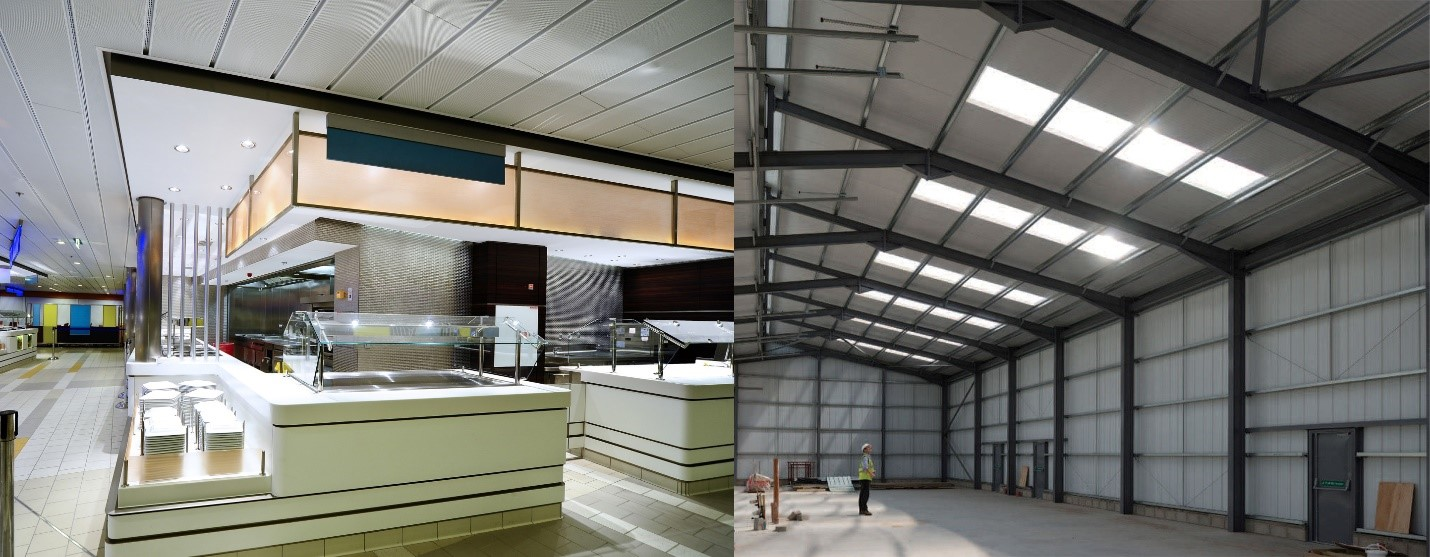 زیرسازی ساندویچ پانل سقفی