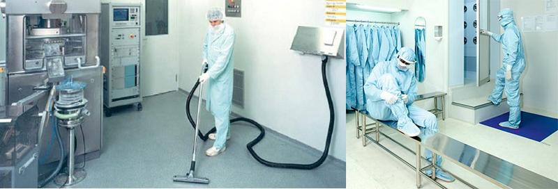 تجهیزات اتاق تمیز آزمایشگاه
