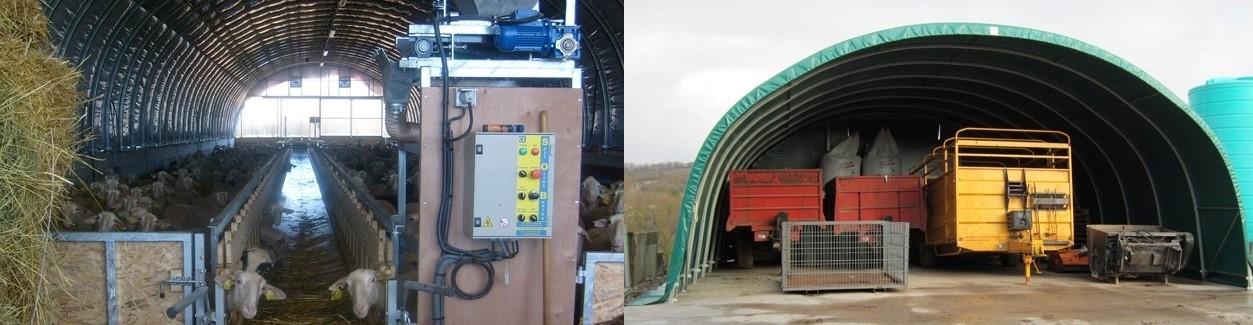 کانکس و تونل کشاورزی
