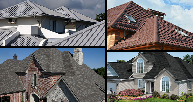پوششهای نوین و قدیمی برای سقفهای شیروانی