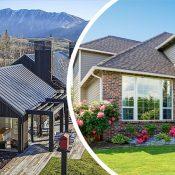 پوششهای نوین و قدیمی برای سقفهای شیبدار