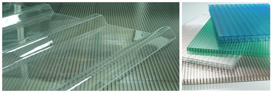 ساختار ورق پلی کربنات