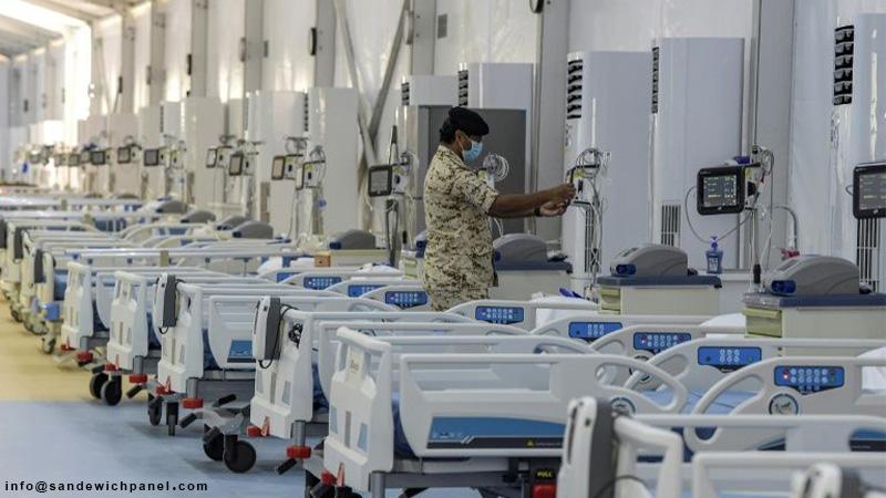 بیمارستان صحرایی با ساندویچ پانل