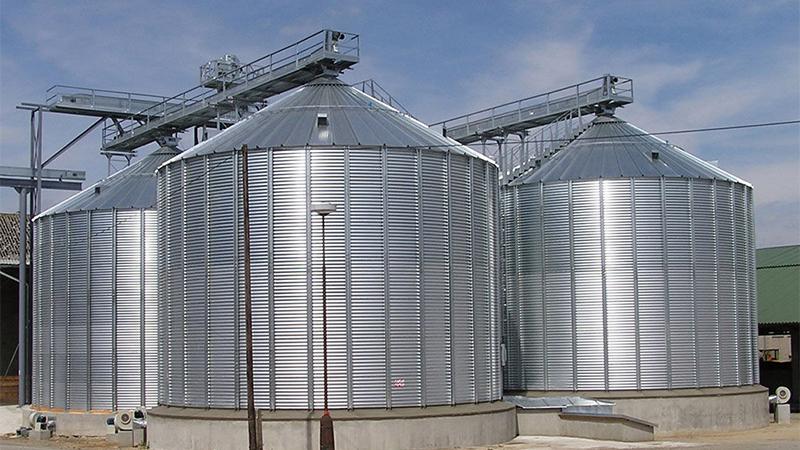 ساخت سیلوی ذخیره غلات