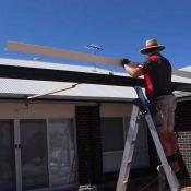 ویدئو نصب ساندویچ پانل سقفی برای منازل ویلایی